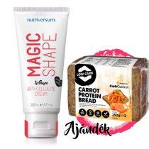 WSHAPE Magic Shape Anti Cellulitisz Krém + Fehérje Kenyér Sárgarépával