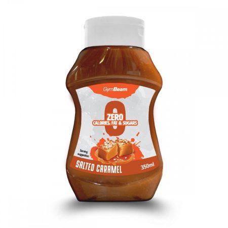 GymBeam Kalóriamentes szirup Sós Karamell 350 ml