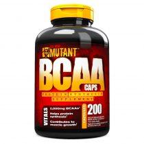 Mutant BCAA Caps - 200 kapszula aminosav táplálékkiegészítő