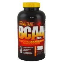 Mutant BCAA Caps - 400 kapszula tömegnövelő