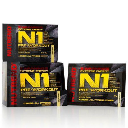 Nutrend N1 Pre-Workout Booster 1karton edzés előtti teljesítménynövelő