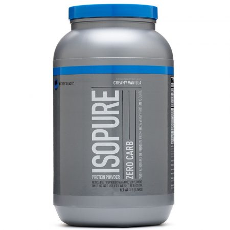 Nature's Best Isopure Low Zero Carb - 1000g tejsavó fehérje