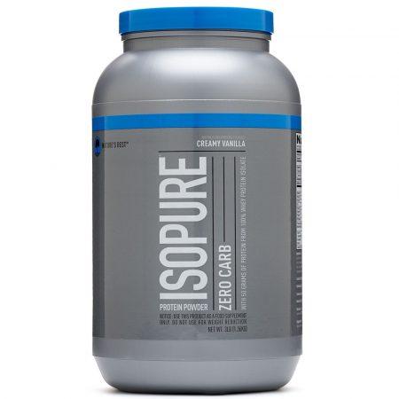 Nature's Best Isopure Low Zero Carb - 2000g tejsavó fehérje