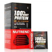 Nutrend 100% Whey Protein 1karton kombinált fehérje