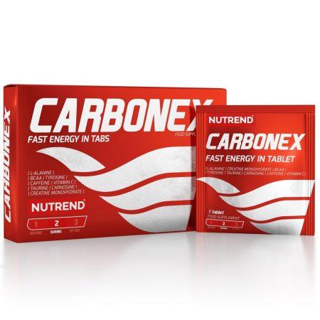 Nutrend Carbonex energizáló állóképességi sportokat űzőknek készült energizáló