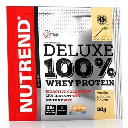 Nutrend Deluxe 100% Whey Protein 1karton kombinált fehérje