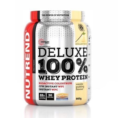 Nutrend Deluxe 100% Whey protein - 900g kombinált fehérje
