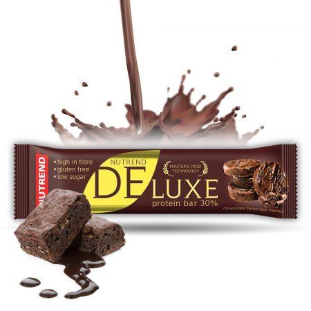 Nutrend Deluxe fehérje szelet 1karton energia vagy fehérjeszelet
