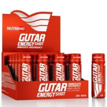Nutrend Gutar Shot 1karton állóképességi sportokat űzőknek készült energizáló