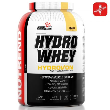 Nutrend Hydro Whey - 1600g tejsavó fehérje