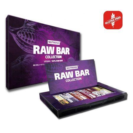Nutrend Raw Bar Collection energia vagy fehérjeszelet