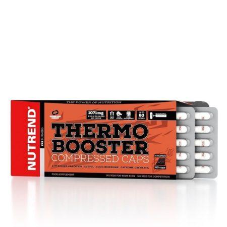 Nutrend Thermo Booster Compressed Caps - 60 Kapszula termogenikus fogyasztószer