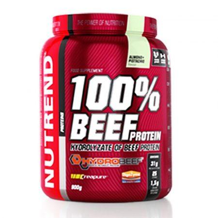 Nutrend 100% Beef Protein 900g marha fehérjepor