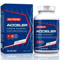Nutrend Acceler teljesítménynövelő 60 tabletta állóképességi sportokat űzőknek készült energizáló
