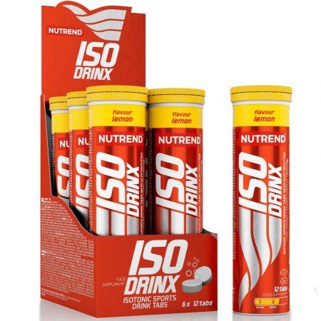 Nutrend Isodrinx Tabs 12 db-os izotóniás ital
