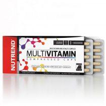 Nutrend Multivitamin Compressed Caps - 60 kapszula több féle vitamint tartalmazó termék