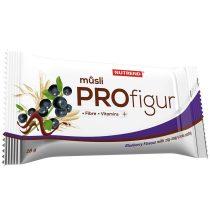 Nutrend ProFigur Zig-Zag Energizáló Müzli 1karton energia vagy fehérjeszelet