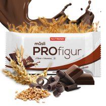 Nutrend ProFigur Energizáló Müzli 1karton energia vagy fehérjeszelet