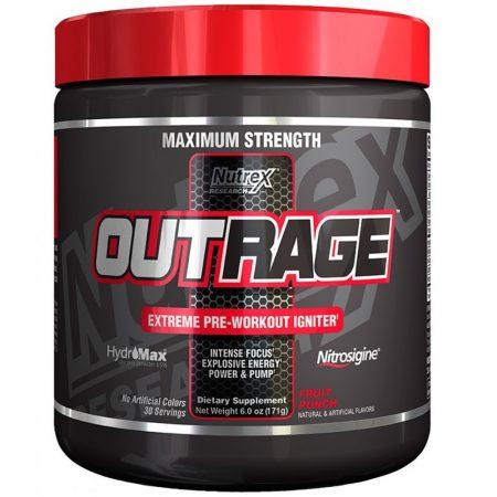 Nutrex Outrage - 144g edzés előtti teljesítménynövelő