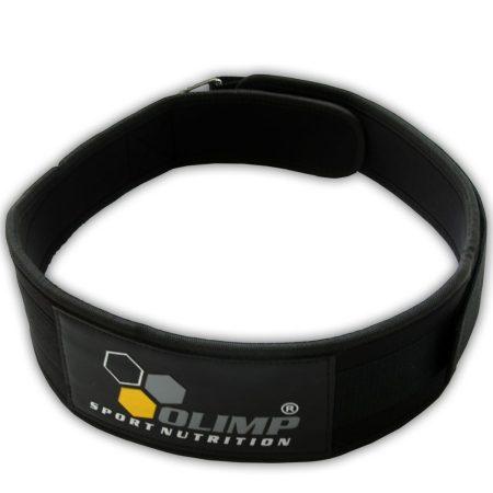 Olimp Training Competition Belt 4 - bodybuilding fekete verseny öv  edzés kiegészítő sportolóknak