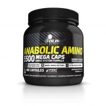 Olimp Anabolic Amino 5500 Mega Caps® 400 kapszula komplex aminosav készítmény