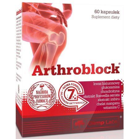 Olimp Labs Arthroblock® ízületvédő 60 kapszula ízületvédő táplálékkiegészítő