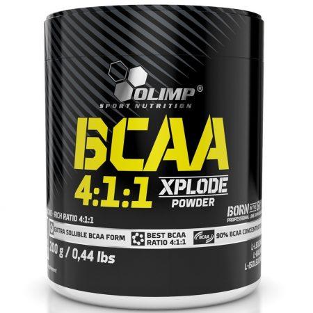 Olimp BCAA 4:1:1 XPLODE POWDER - 200g aminosav táplálékkiegészítő