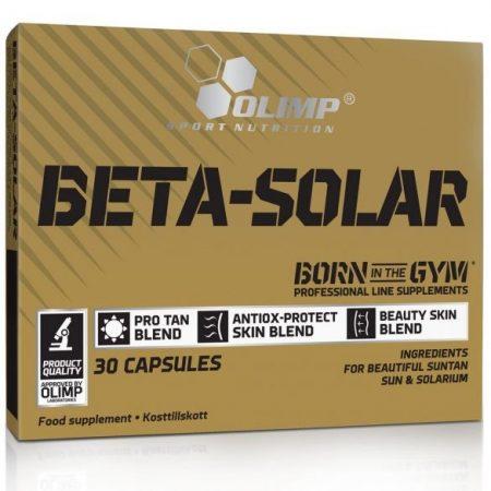 Olimp Labs BETA-SOLAR sport kiadás - 30 kapszula napozóvitamin