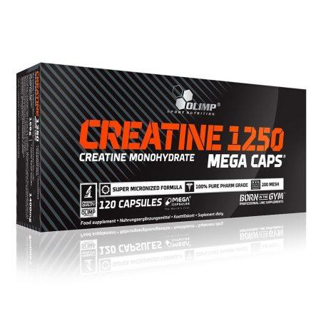 Olimp Creatine 1250mg kreatin monohidrátot tartalmazó kreatin kapszula