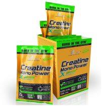 Olimp Creatine Mono Power Xplode 220 g ízesített kreatin táplálékkiegészítő