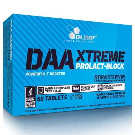 Olimp DAA Xtreme Prolact-Block - 60 tabletta tesztoszteron és hormonszint optimalizáló