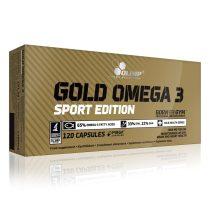 Olimp Gold Omega 3 Sport Edition 120 kapszula Omega3 vitamin készítmény