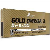 Olimp Gold Omega 3 Sport Edition D3 + K2 SE 60 kapszula Omega3 vitamin készítmény
