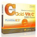 Olimp Labs GOLD-VIT C® 1000 FORTE - 30 kapszula C-vitamin készítmény