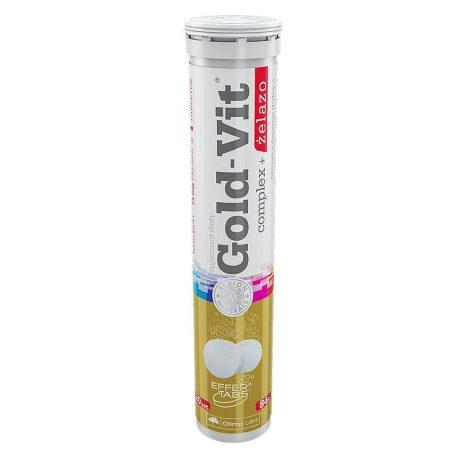 Olimp Labs GOLD-VIT Complex + Vas pezsgőtabletta - 20 tabletta  több féle vitamint tartalmazó termék