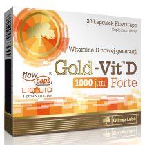 Olimp Labs Gold VIT™ D Forte - 30 kapszula D.vitamin tartalmú táplálékkiegészítő