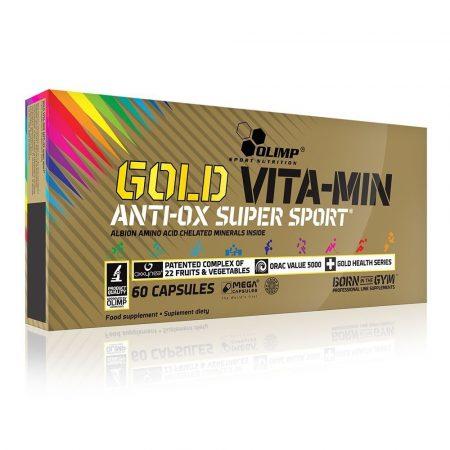 OLIMP GOLD VITA-MIN anti-OX super sport™ Mega Caps® 60 kapszula szépségvitamin