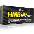 Olimp HMB Mega Caps (1250 mg) - 120 kapszula teljesítményfokozó sportolóknak, testépítőknek