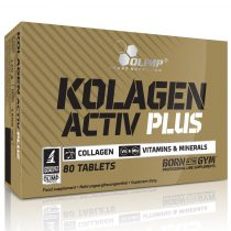 Olimp Labs KOLLAGEN ACTIV PLUS - 80 rágótabletta ízületvédő táplálékkiegészítő