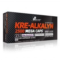 Olimp Kre-Alkalyn 2500 Mega Caps kreatin 120 kapszula kreatin kapszula sportolóknak