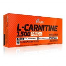 Olimp L-CARNITINE 1500 Extreme Mega Caps® zsírégető 120 kapszula l-karnitin tartalmú diétás termék