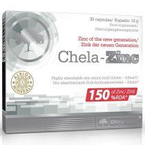 Olimp Labs Chela-Zinc 30 kapszula cink ásványi anyag készítmény