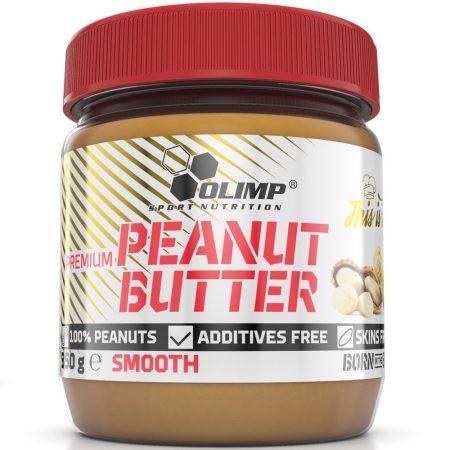 Olimp Peanut Butter mogyoróvaj - 350g csökkentett szénhidrát tartalmú mogyorókrém
