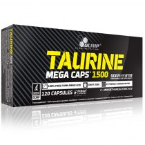 Olimp Taurine Mega Caps® 120 kapszula aminosav termék sportolóknak