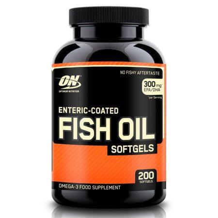ON Enteric Coated Fish Oil 200 zselékapszula Omega3 vitamin készítmény