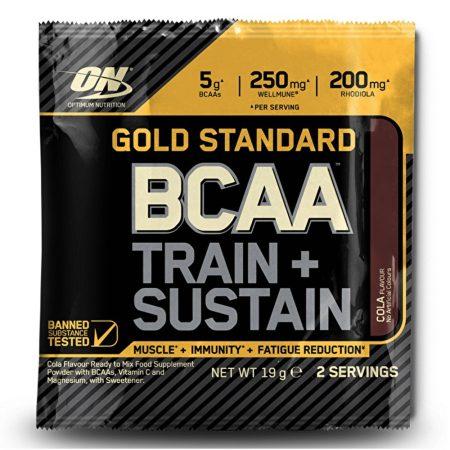 ON Gold Standard BCAA Train + Sustain 1karton aminosav táplálékkiegészítő