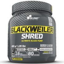Olimp Blackweiler Shred - 480g teljesítményfokozó sportolóknak, testépítőknek