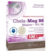 Olimp Chela-Mag B6 60 kapszula ásványi anyag készítmény magnéziummal
