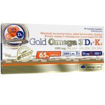 Olimp Gold Omega 3  D3 + K2 - 30 kapszula Omega3 vitamin készítmény