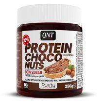 QNT Protein Choco Nut mogyoróvaj - 250g csökkentett szénhidrát tartalmú mogyorókrém